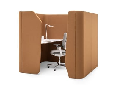 Acoustic fabric office booth WORKSTATION