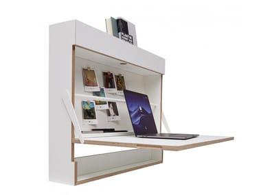 Wall mounted secretary desk WORKOUT