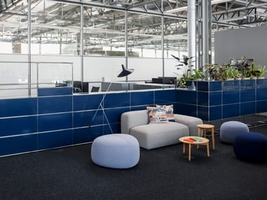 Modular Reception desk WORLD OF PLANTS FOR USM HALLER | Reception desk