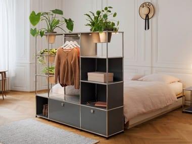 Sectional wardrobe WORLD OF PLANTS FOR USM HALLER | Wardrobe