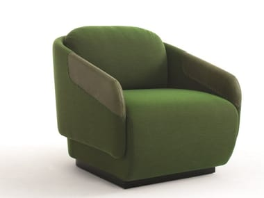 Armchair with armrests WORN | Armchair