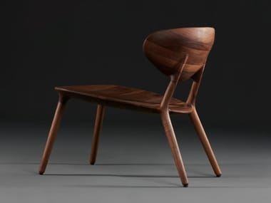 Solid wood easy chair WU | Easy chair