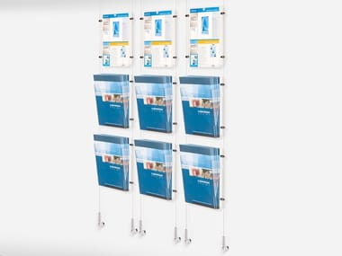 Wall display stand/equipped display case WW-DISPLAY