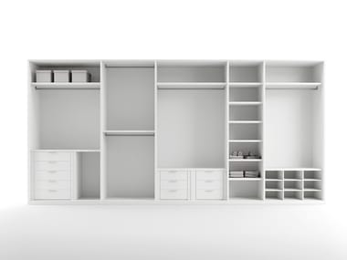 Modular walk-in wardrobe Walk-in wardrobe