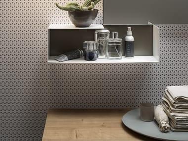 Carte da parati stile moderno archiproducts - Carta da parati lavabile per bagno ...