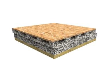 Isolamento termico e acustico in EPS e Neopor accoppiato a lana di roccia e OSB tipo 3 da 13 mm WINPOLARPLUS