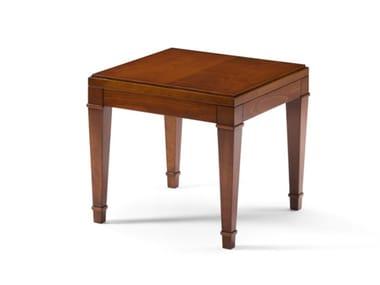Square wooden coffee table Wooden coffee table
