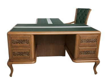 Rectangular wooden writing desk Writing desk