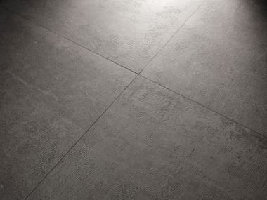Pavimento/rivestimento in gres porcellanato effetto cemento X-BETON DOT-70