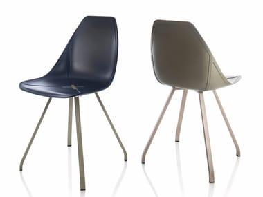 Polypropylene chair X SPIDER