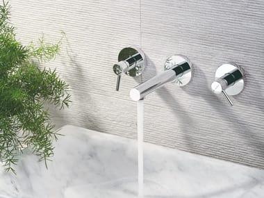 3 hole washbasin tap without waste X-TREND | 3 hole washbasin tap