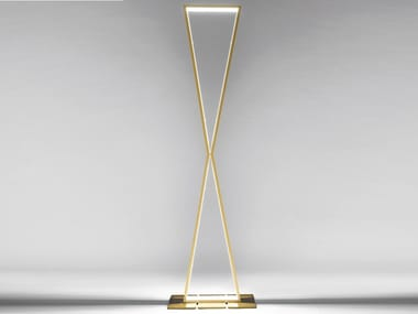 Lampada da terra a LED in alluminio XLIGHT   Lampada da terra