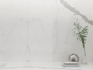 Porcelain stoneware wall/floor tiles with marble effect XLIGHT PREMIUM KALA WHITE