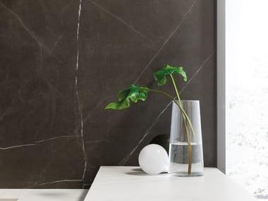 Porcelain stoneware wall/floor tiles with marble effect XLIGHT PREMIUM SAVAGE DARK
