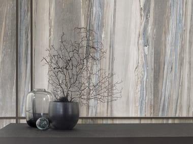 Revestimiento de pared/suelo de gres porcelánico imitación mármol XLIGHT UNIK BLUE