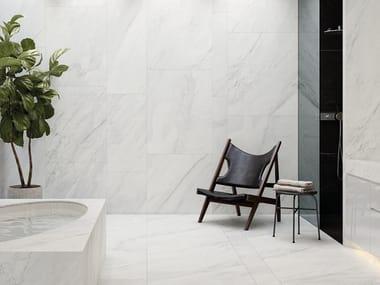 Revestimiento de pared/suelo de gres porcelánico imitación mármol XTONE GLEM WHITE