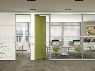 Glass Office Wall Office Partition XW P1 Glass Wall