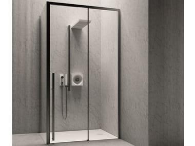 Cabina de ducha modular con puertas correderas XYZ+™ | Cabina de ducha