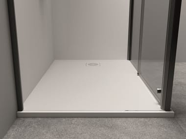 Rectangular Techstone shower tray XYZ+™ | Shower tray