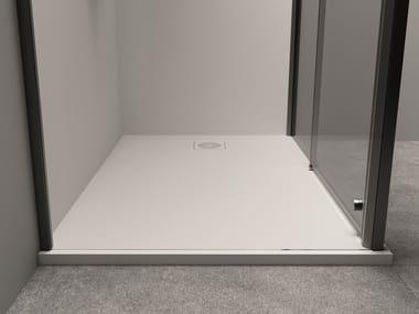 Plato de ducha rectangular de Techstone XYZ+™ | Plato de ducha