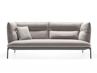 High-back fabric sofa YALE X | High-back sofa