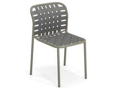 Stackable aluminium garden chair YARD | Chair