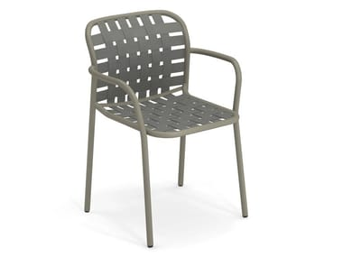 Easy chair YARD | Chair with armrests