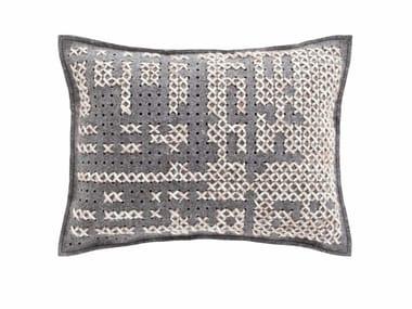 Rectangular wool cushion CANEVAS | Rectangular cushion