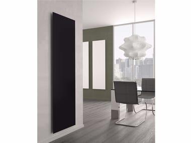 Vertical aluminium panel radiator YIN
