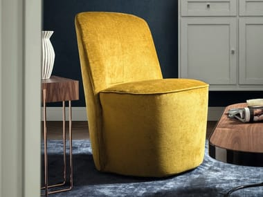 Upholstered velvet easy chair YORK 26