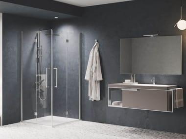 Box doccia angolare con porta a battente YOUNG | 2GS