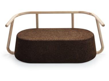 Cork small sofa YPSILON | Small sofa