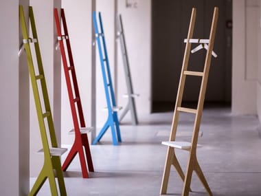 Coat rack / valet stand YPSY | Contemporary style valet stand