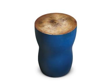 Round eucalyptus coffee table YSGAWYN