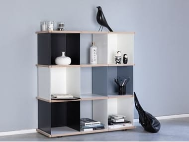Sectional modular bookcase YU SET 3