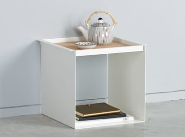 Side table with tray YU TRAY TABLE