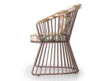 Garden upholstered easy chair YUCCA BRIDGE