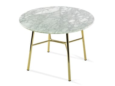 Round marble coffee table YUKI   Round coffee table