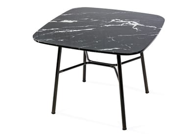 Square marble coffee table YUKI   Square coffee table