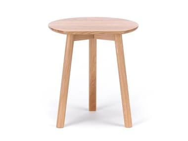 Tavolino rotondo in legno YYY
