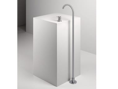 2 hole floor standing stainless steel washbasin mixer Z316 | 2 hole washbasin mixer