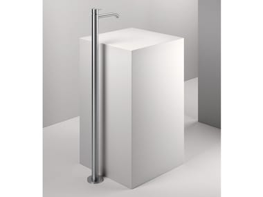 Floor standing single handle stainless steel washbasin mixer Z316 | Floor standing washbasin mixer