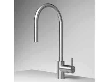 Single handle kitchen mixer tap with pull out spray Z316 | Kitchen mixer tap with pull out spray