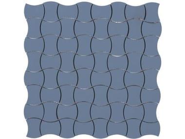Pavimento/rivestimento antiscivolo in gres porcellanato per interni ed esterni ZAFFIRO BUTTERFLY FULL BODY SU RETE