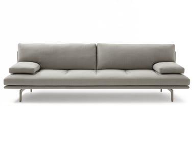 Fabric sofa ZANOTTA - MILANO+ TATTO GREY