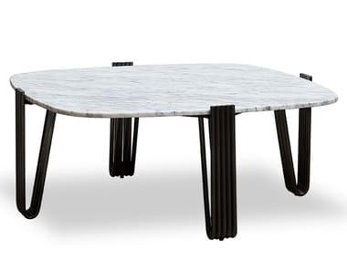 Carrara marble coffee table ZD-15 | Coffee table