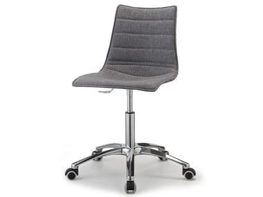 Cadeira operativa de 5 raios ZEBRA POP | Cadeira operativa