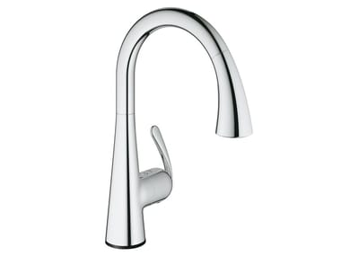 Electronic Single Handle Kitchen Mixer Tap ZEDRA TOUCH | Electronic Kitchen  Mixer Tap
