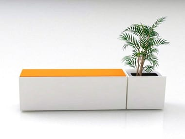 Backless bench seating ZELL II | Bench seating