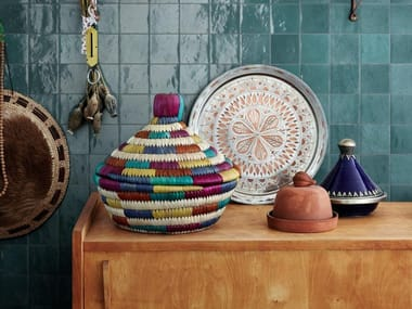 Rivestimento in ceramica ZELLIGE | Petrolio